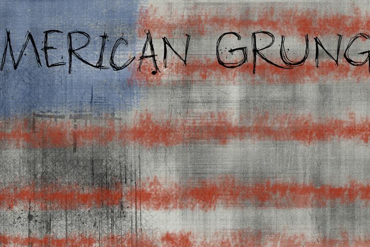 DK American Grunge Font