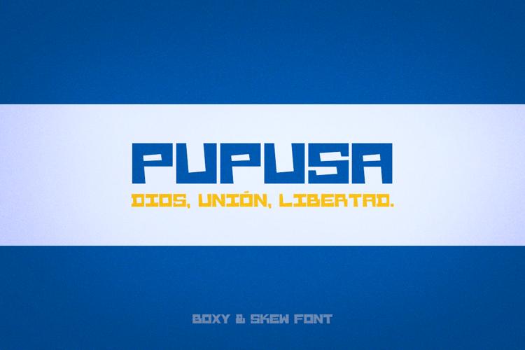 Pupusa Font