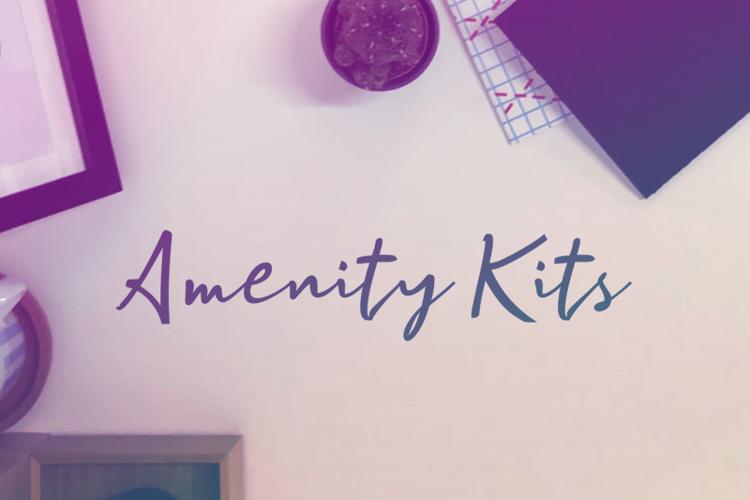 a Amenity Kits Font