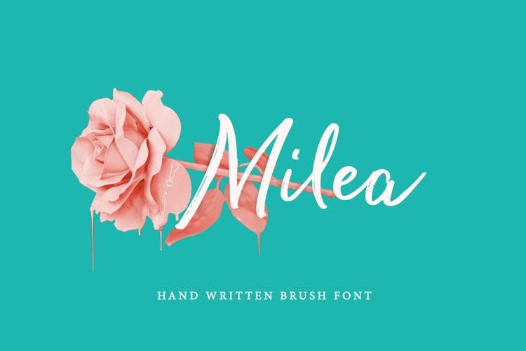 Milea Alt Font