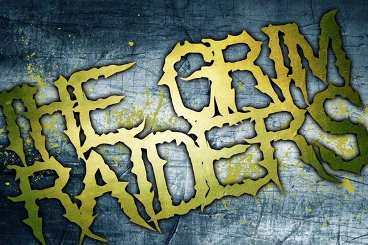 The Grim Raiders Font