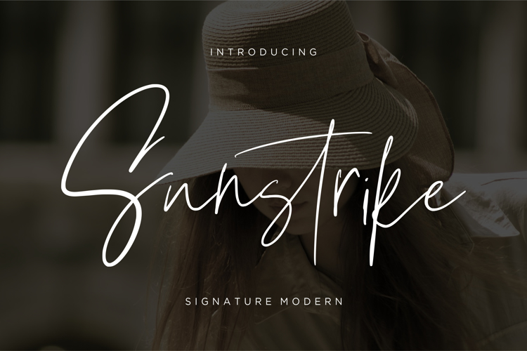 Sunstrike Font