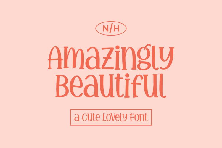 Amazingly Beautiful Font