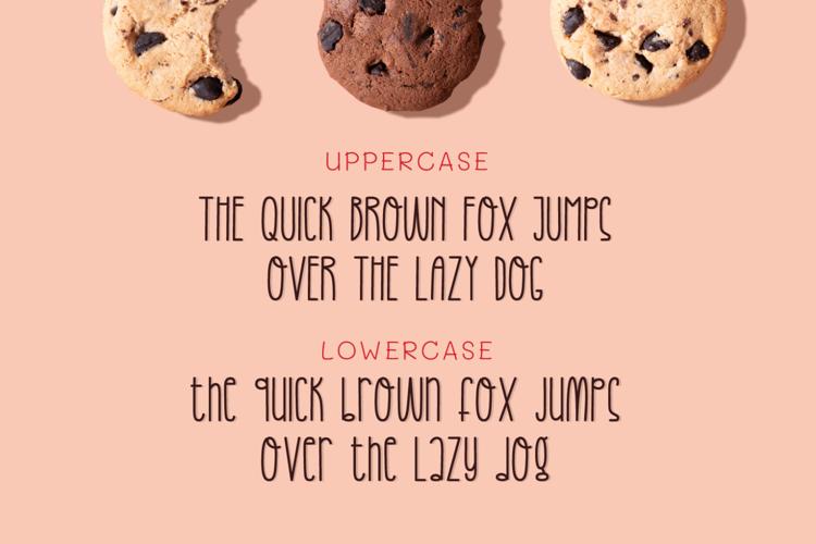 Happy Cookies Font