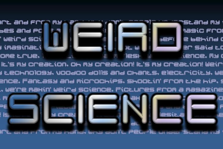 Weird Science NBP Font