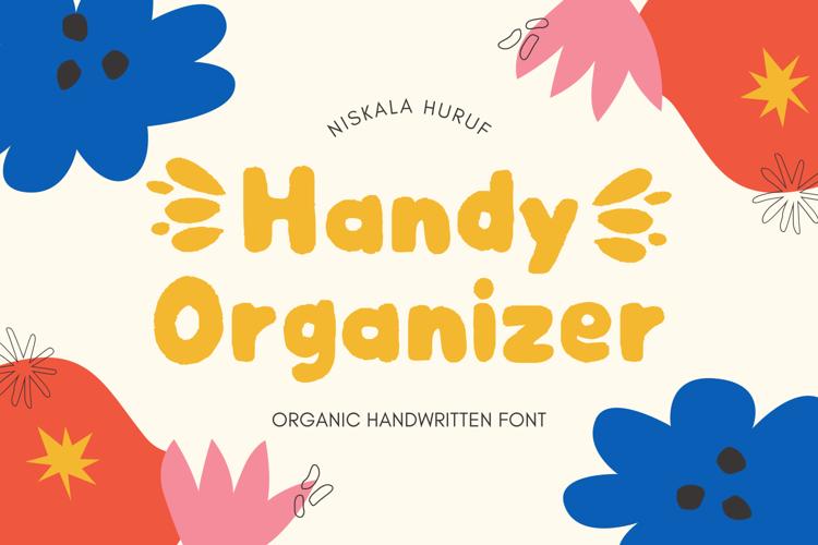 Handy Organizer Font