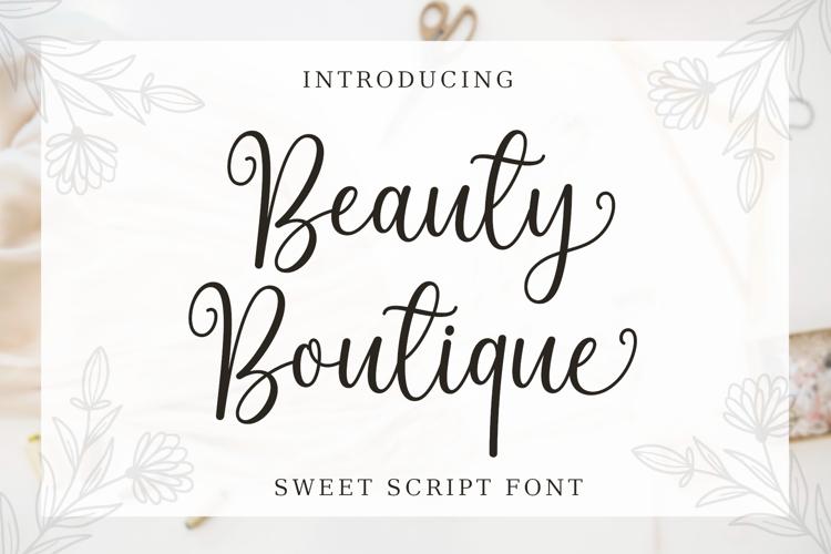 Beauty Boutique Font
