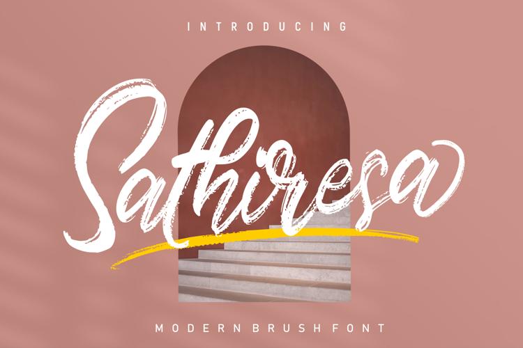 Sathiresa Font