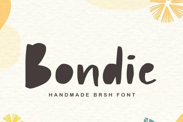 Bondie Font