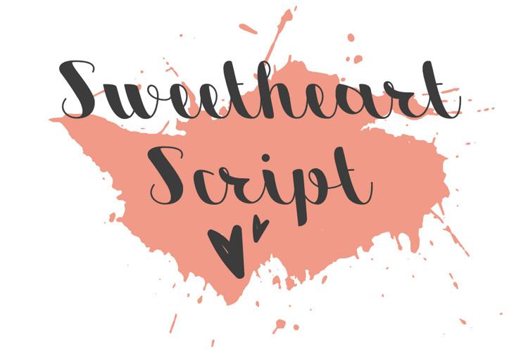 Sweetheart Script Font