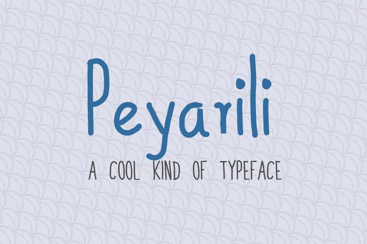 Peyarili Font