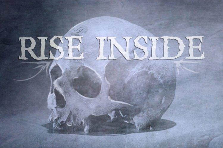 Rise Inside Font