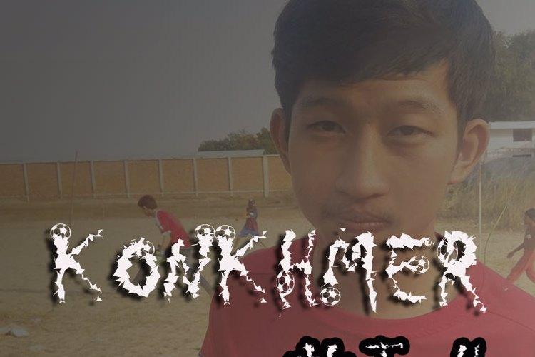 KonKhmer_FireBall PJ Font