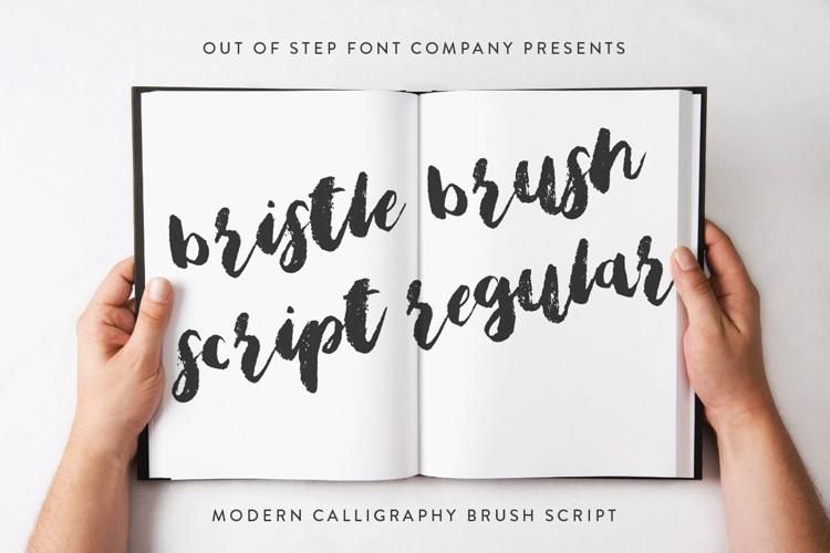 Bristle Brush Script Font
