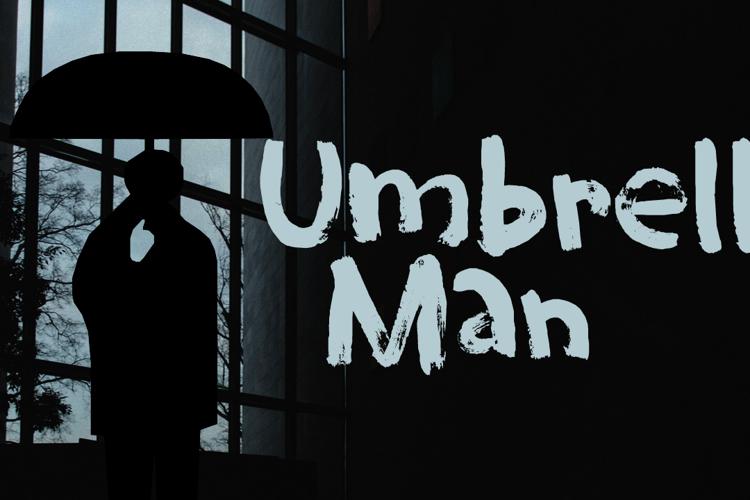 Umbrella Man (Demo) Font