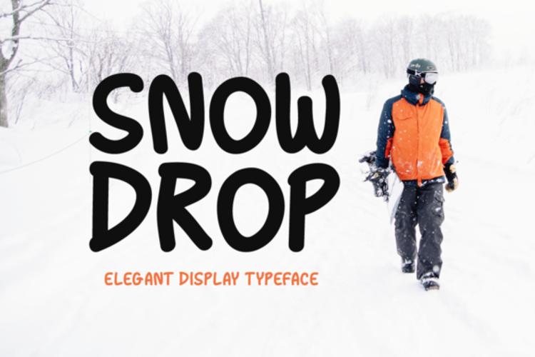 Snow Drop Font