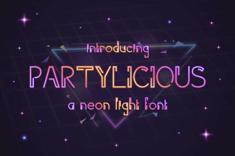 Partylicious Font
