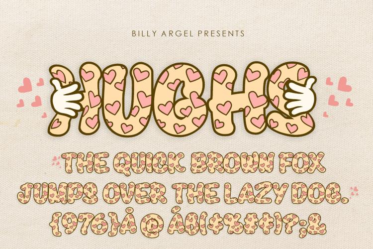 HUGS Font