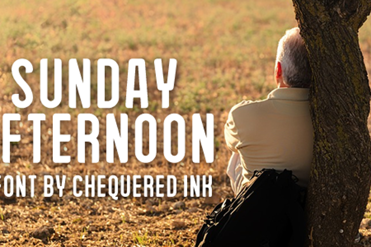 Sunday Afternoon Font