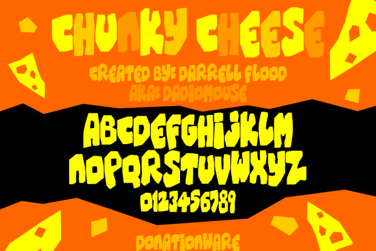 Chunky Cheese Font