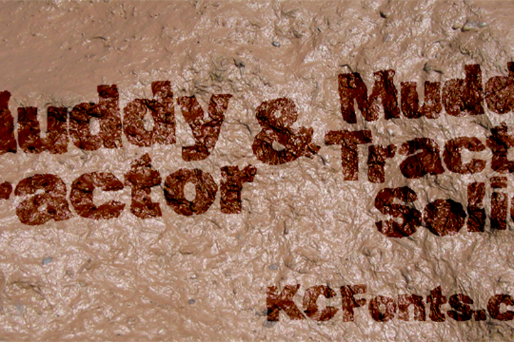 Muddy Tractor Font