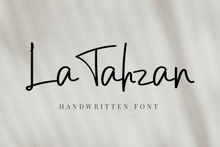 La Tahzan Font