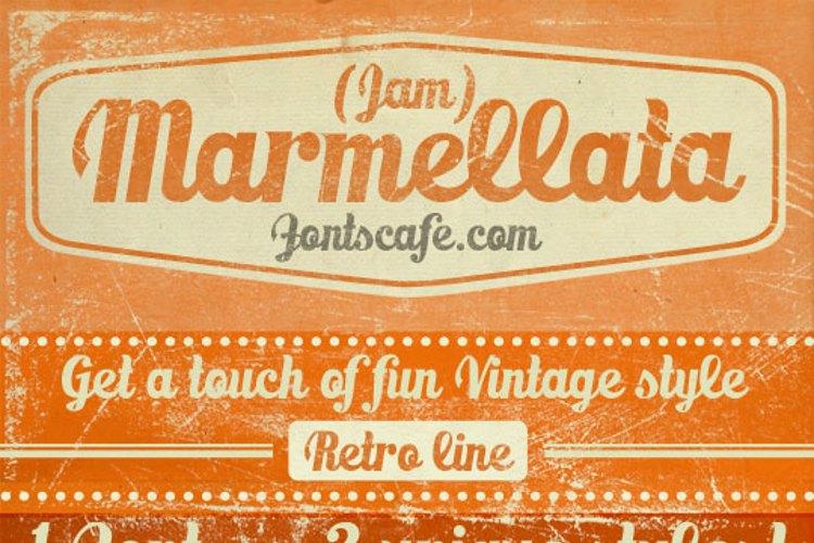 Marmellata (Jam)_demo Font