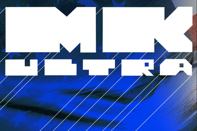 MK ULTRA Font