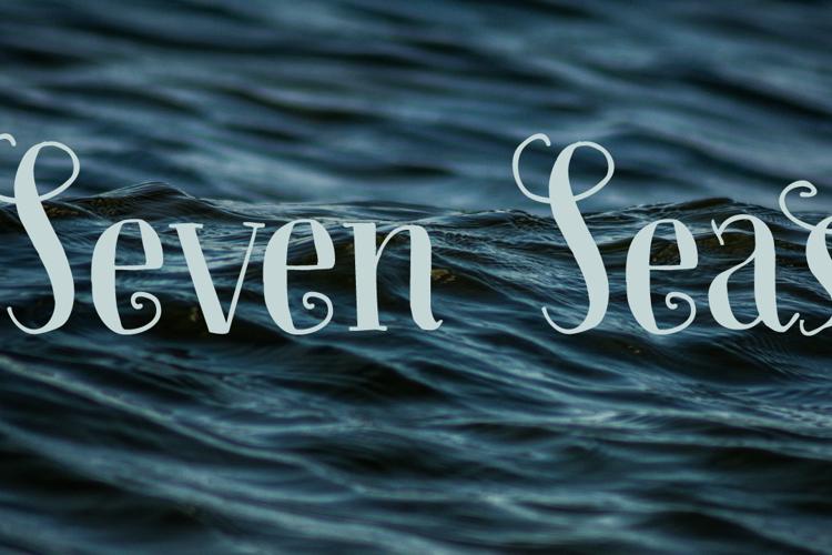 Seven Seas DEMO Font