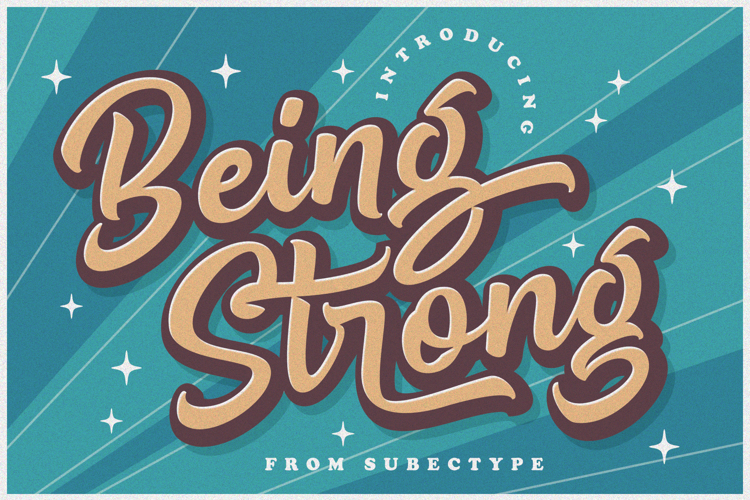 Be Strong Font