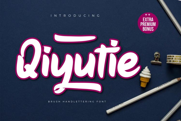 Qiyutie Font