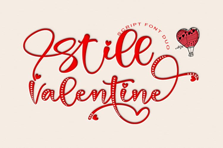 Still Valentine Font