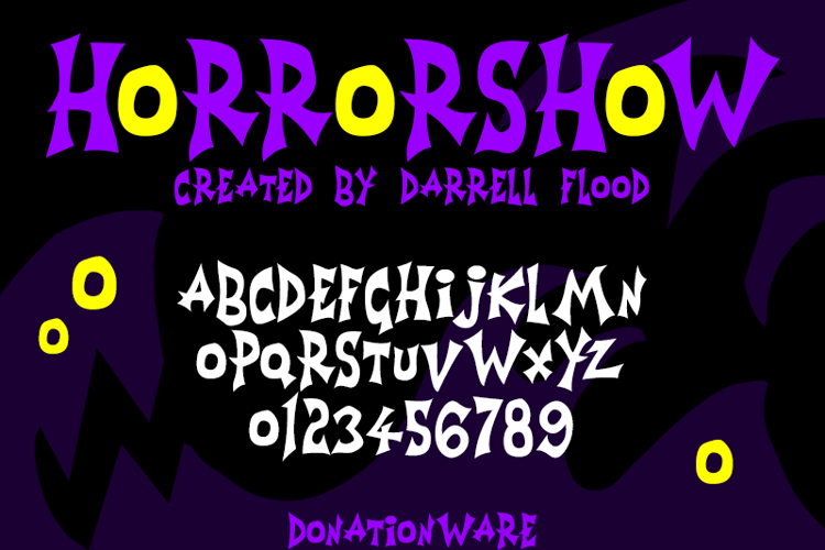 Horrorshow Font