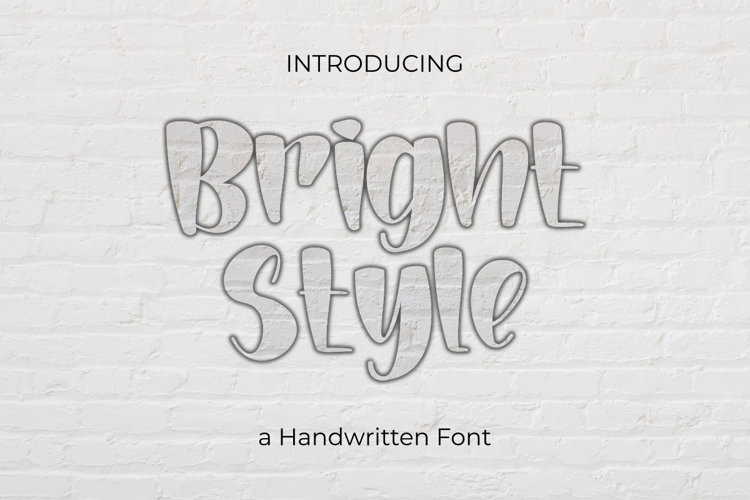 Bright Style Font