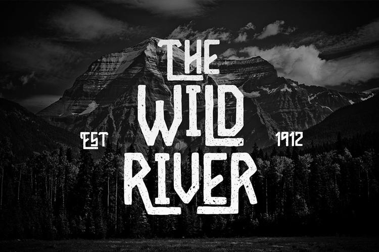 Wild River Font