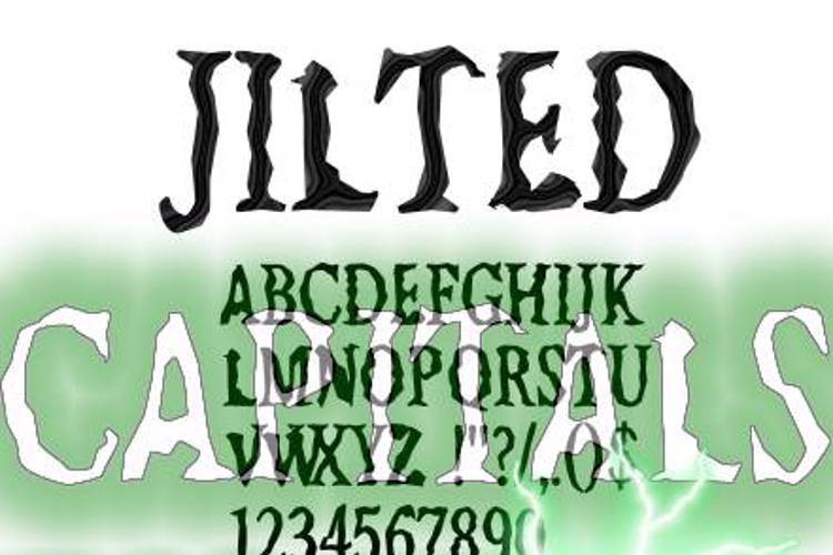 Jilted Font