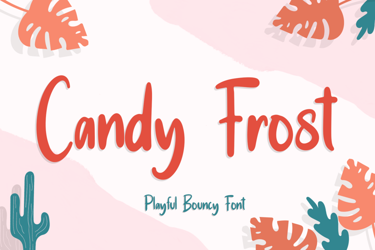 Candy Frost Font