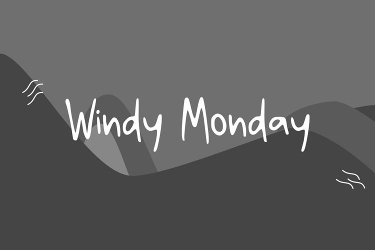 Windy Monday GT Font