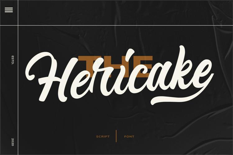 Hericake Font