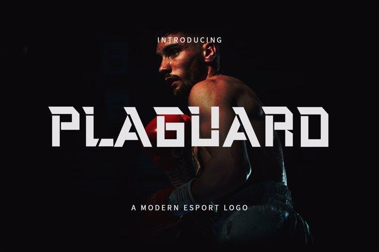 Plaguard Font