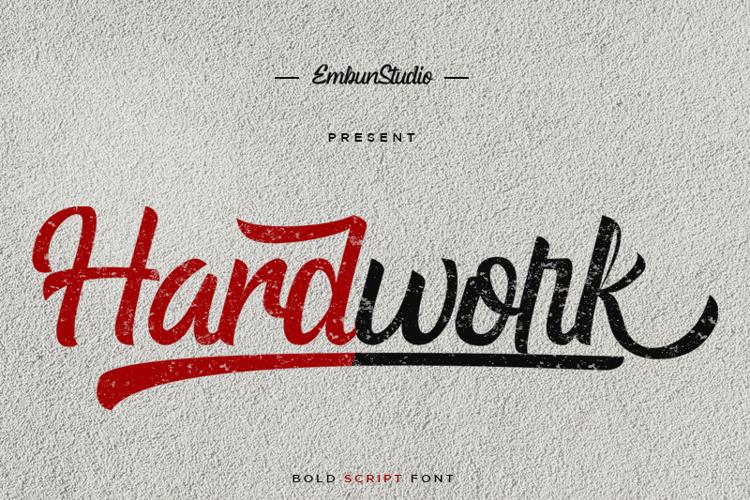 Hardwork Font
