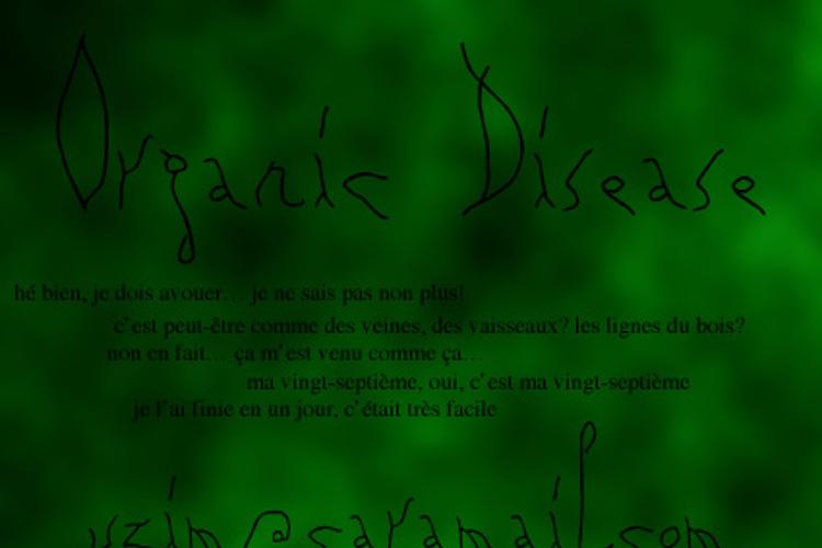 Organic Disease Font