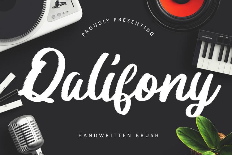 Qalifony Font