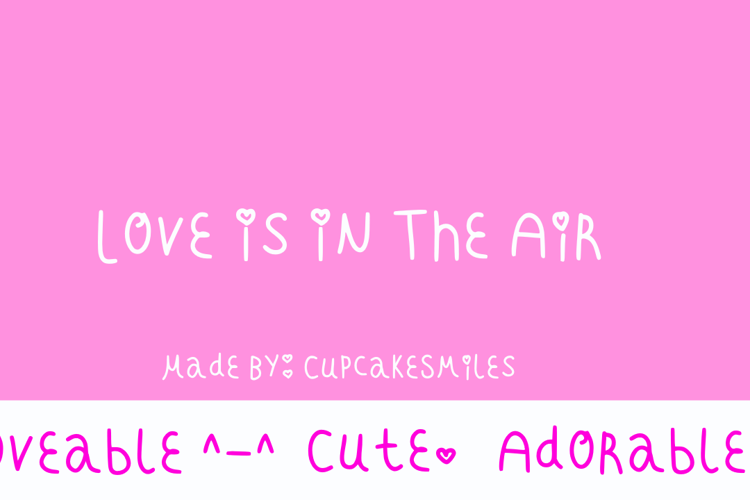 Love Is In The Air Font