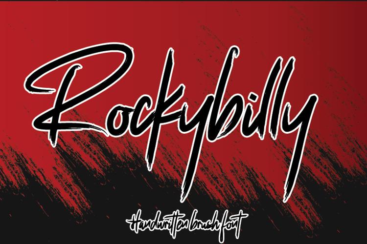 Rockybilly Font