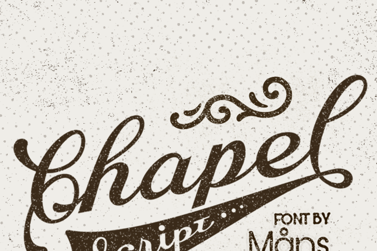 Chapel Script Font