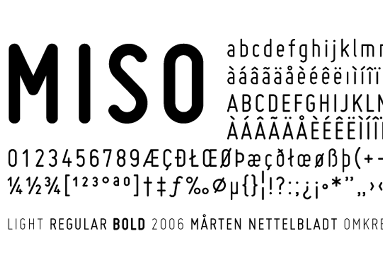 Miso Font