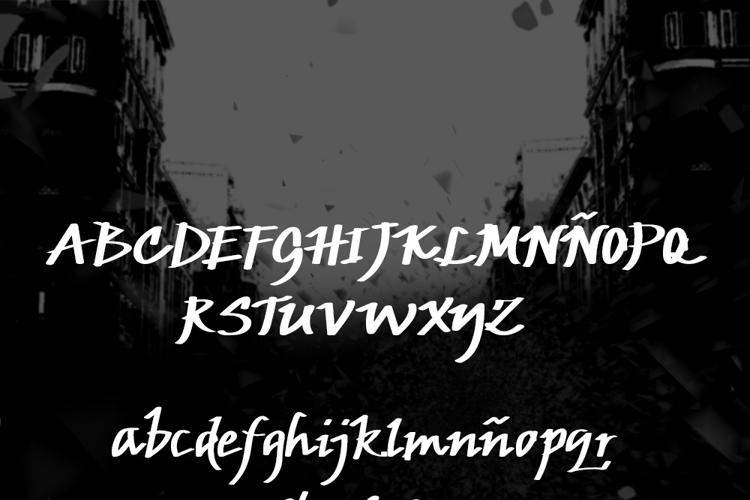 JP Urbaam DEMO Font