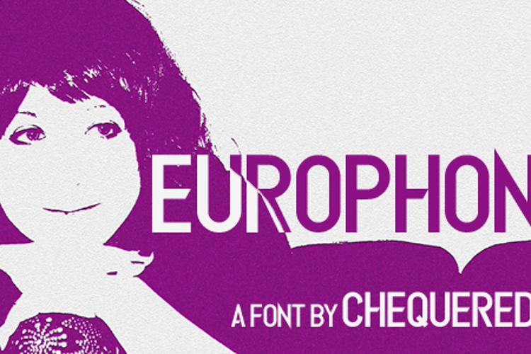 Europhonic Font