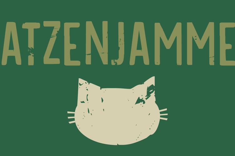 DK Katzenjammer Font